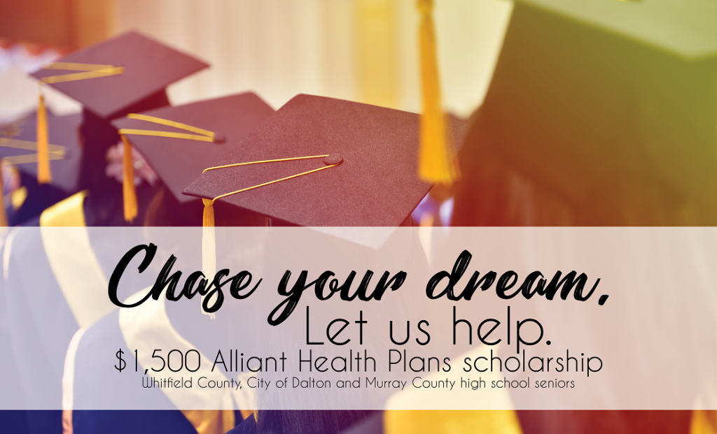 2018 Alliant Health Plans Scholarship
