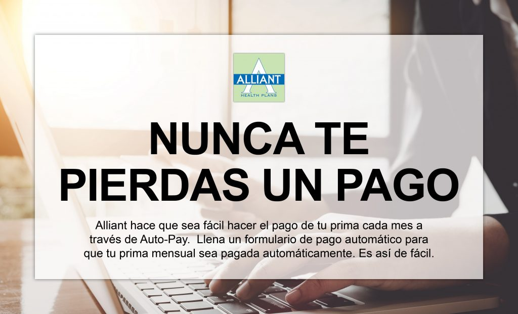 Auto Pay web graphic SPANISH