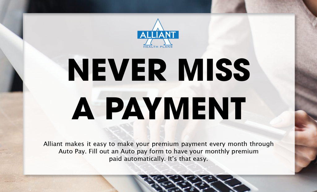 Auto Pay Monthly Premium Payment 2