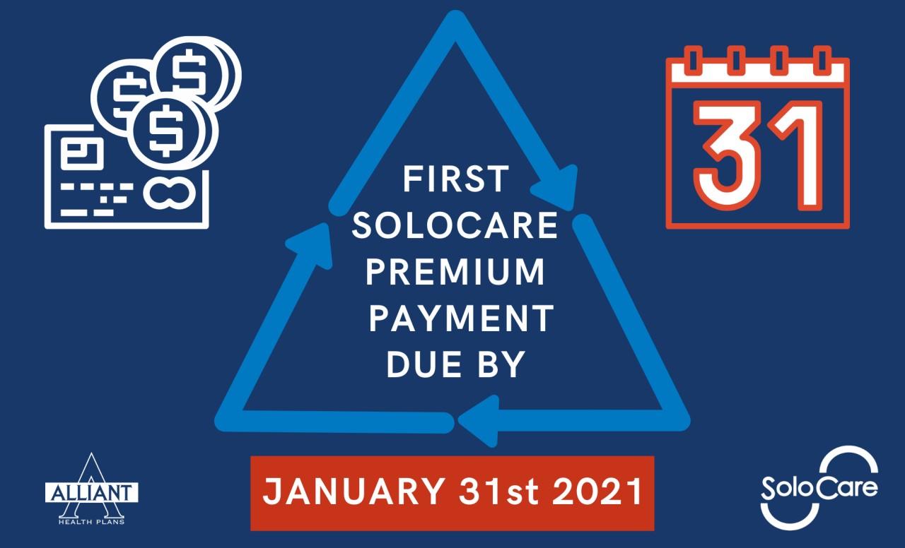 2021 Premium Payment Due
